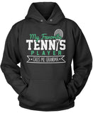 My Favorite Tennis Player Calls Me Grandma Pullover Hoodie Sweatshirt