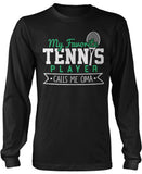 My Favorite Tennis Player Calls Me Oma Long Sleeve T-Shirt