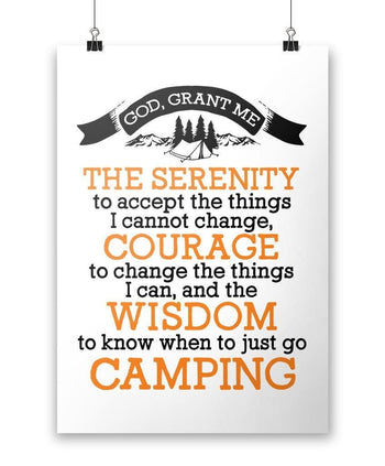 Camping Serenity - Poster - Posters