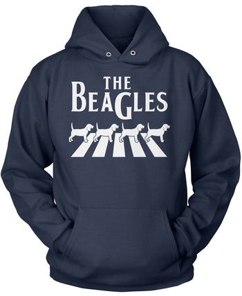 The Beagles - Pullover Hoodie / Navy / S
