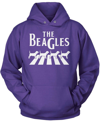 The Beagles - Pullover Hoodie / Purple / S