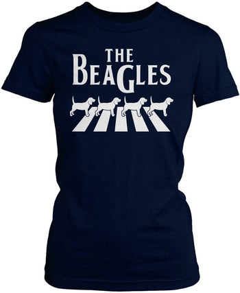 The Beagles - Women's Fit T-Shirt / Navy / S