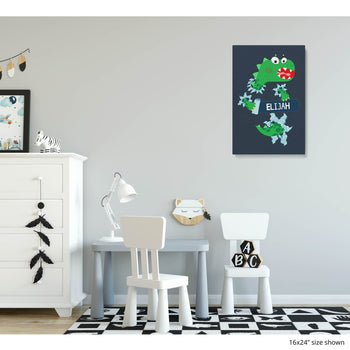 Jurassic Dinosaur - Personalized Canvas -  [variant_title]