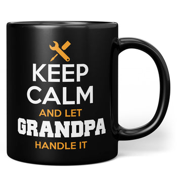 Keep Calm and Let (Nickname) Handle It - Mug - Black / Regular - 11oz