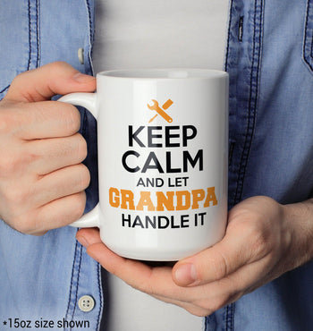 Keep Calm and Let (Nickname) Handle It - Mug - [variant_title]