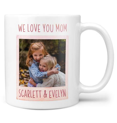 Keepsake Personalized Photo Mug - Regular - 11oz