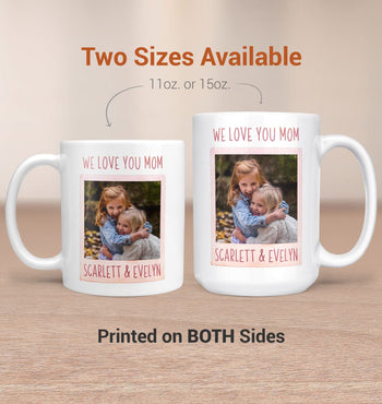 Keepsake Personalized Photo Mug - [variant_title]
