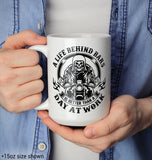 A Life Behind Bars Is Better Than A Day At Work - Mug - Coffee Mugs