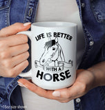Life Is Better with a Horse - Mug - [variant_title]