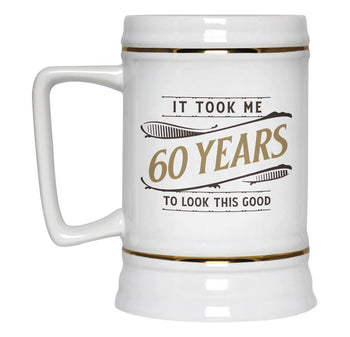 It Took Me (Age) Years to Look This Good - Beer Stein - [variant_title]