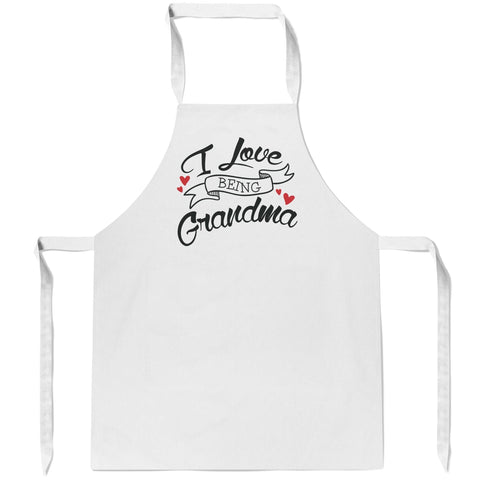I Love Being (Nickname) - Apron - Aprons