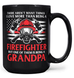 This (Nickname) Loves Being a Firefighter - Mug