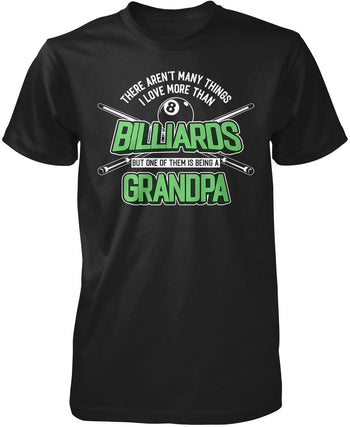 This (Nickname) Loves Billiards - T-Shirt