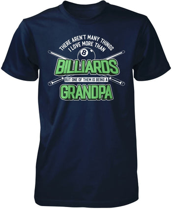 This (Nickname) Loves Billiards - T-Shirt - Premium T-Shirt / Navy / S
