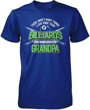 This (Nickname) Loves Billiards - T-Shirt - Premium T-Shirt / Royal / S