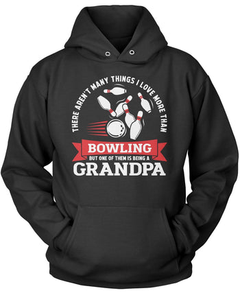 This (Nickname) Loves Bowling - Personalized Pullover Hoodie Sweatshirt