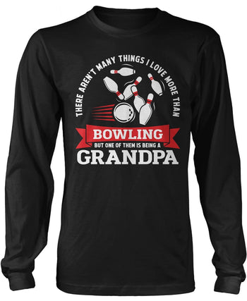 This (Nickname) Loves Bowling - Personalized Long Sleeve T-Shirt