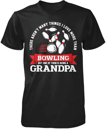 This (Nickname) Loves Bowling - Personalized T-Shirt