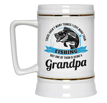 This (Nickname) Loves Fishing - Personalized Beer Stein - [variant_title]