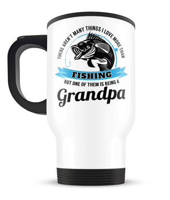 This (Nickname) Loves Fishing - Personalized Travel Mug - [variant_title]
