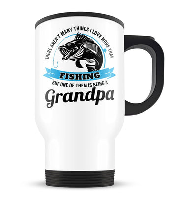 This (Nickname) Loves Fishing - Personalized Travel Mug