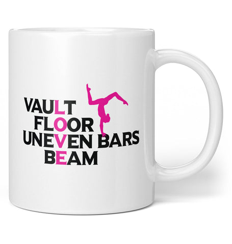 Love Gymnastics Coffee Mug