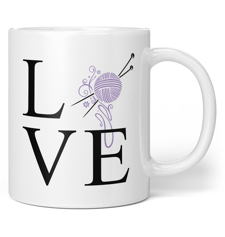 Love Knitting - Mug - Regular - 11oz