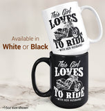 This Girl Loves to Ride with Her Husband - Mug - [variant_title]