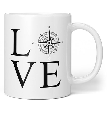 Love Travel - Coffee Mug / Tea Cup