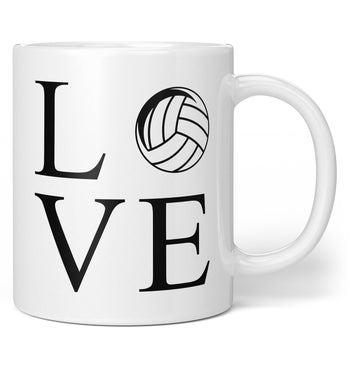 Love Volleyball - Coffee Mug / Tea Cup