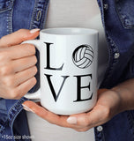 Love Volleyball - Mug - [variant_title]