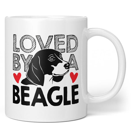Loved by a Beagle - Coffee Mug / Tea Cup
