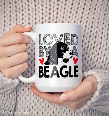 Loved by a Beagle - Mug - [variant_title]