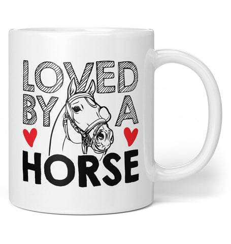 Loved by a Horse - Coffee Mug / Tea Cup