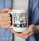 Loved by a Horse - Mug - [variant_title]