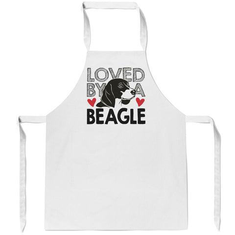 Loved by a Beagle - Apron