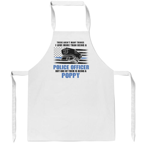 This (Nickname) Loves Being a Police Officer- Personalized Apron