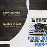 This (Nickname) Loves Being a Police Officer - Personalized Apron - [variant_title]