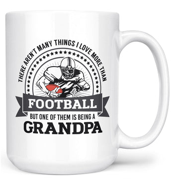 This (Nickname) Loves Football - Mug - White / Large - 15oz