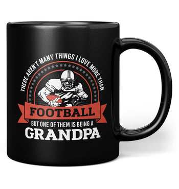 This (Nickname) Loves Football - Mug - Black / Regular - 11oz