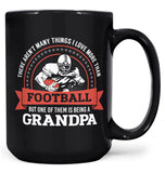 This (Nickname) Loves Football - Mug - Black / Large - 15oz