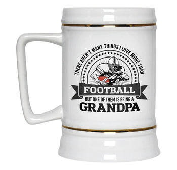 This (Nickname) Loves Football - Beer Stein - [variant_title]