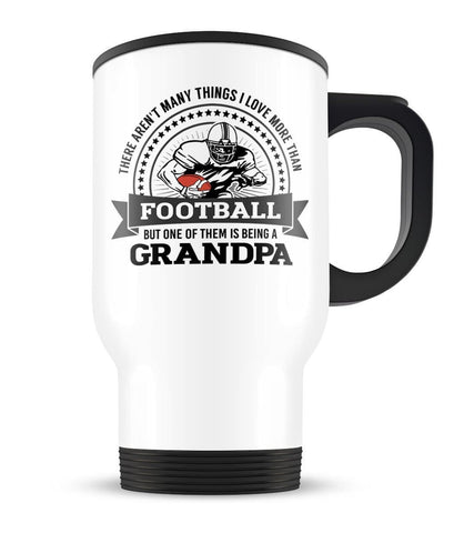 This (Nickname) Loves Football - Personalized Travel Mug Cup