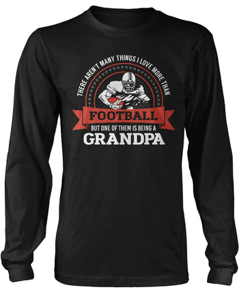 This (Nickname) Loves Football - Personalized Long Sleeve T-Shirt