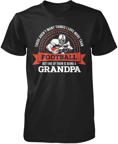 This (Nickname) Loves Football - Personalized T-Shirt