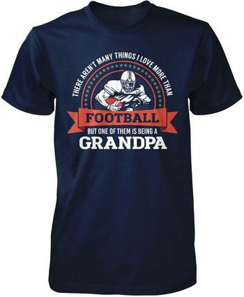 This (Nickname) Loves Football - T-Shirt - Premium T-Shirt / Navy / S