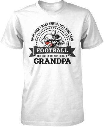 This (Nickname) Loves Football - T-Shirt - Premium T-Shirt / White / S