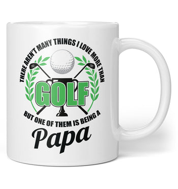 This (Nickname) Loves Golf - Personalized Mug / Tea Cup