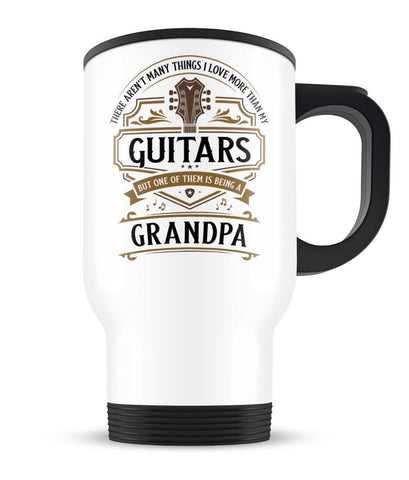 This (Nickname) Loves Guitars - Personalized Travel Mug