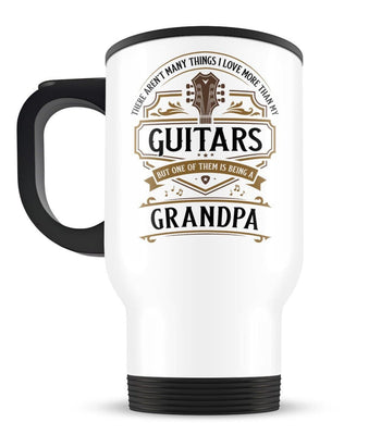 This (Nickname) Loves Guitars - Travel Mug - [variant_title]